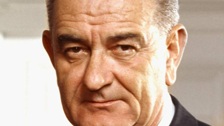 1.Lyndon B. Johnson (1964)61,05%