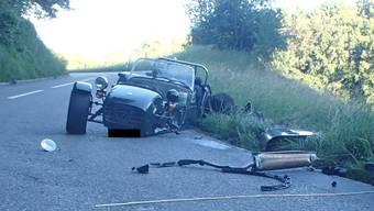 Schöftland: Unfall fordert zwei Leichtverletzte
