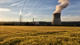 Blick auf das Atomkraftwerk Leibstadt im Kanton Aargau (Archiv)