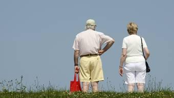 In der Schweiz ist in 25 Jahren jeder vierte über 65 Jahre alt.
