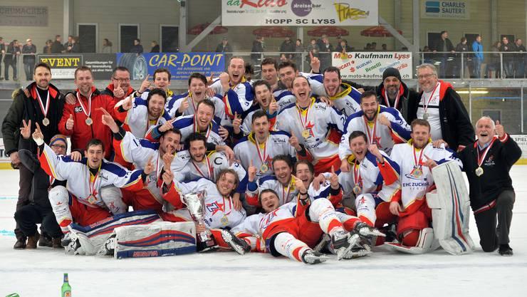Zuchwil Regio ist Gruppensieger 2018.