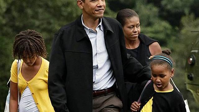 Familie Obama zog von Chicago nach Washington