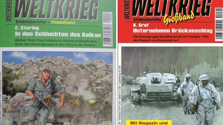 Fragwürdige Lektüre: Das Magazin «Weltkrieg»