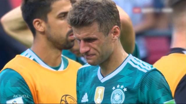 Titelverteidiger Deutschland scheidet als Gruppenletzter aus