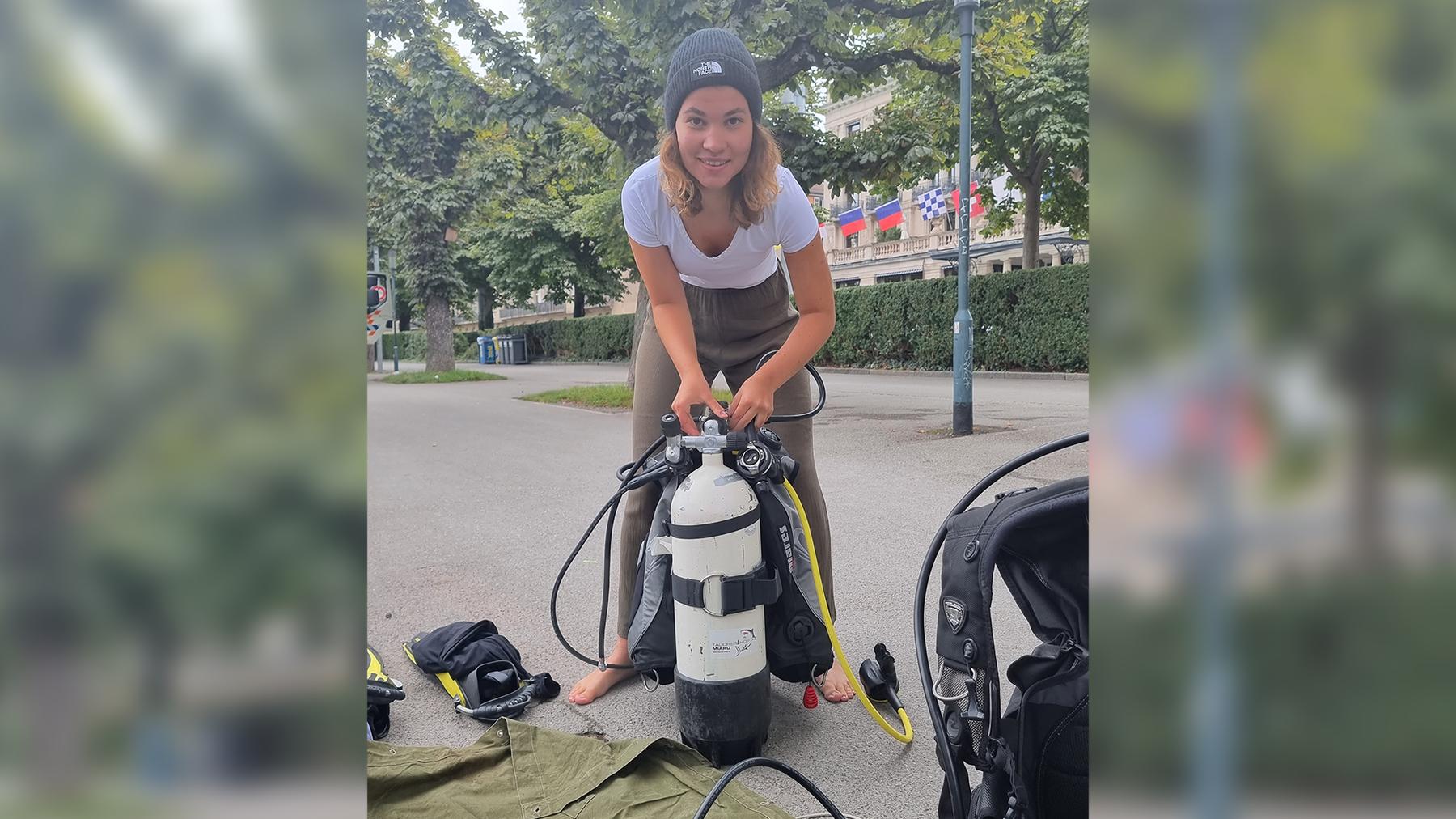 Seeputzete 2021 Unsere Reporterin Lea Hilff macht sich ready