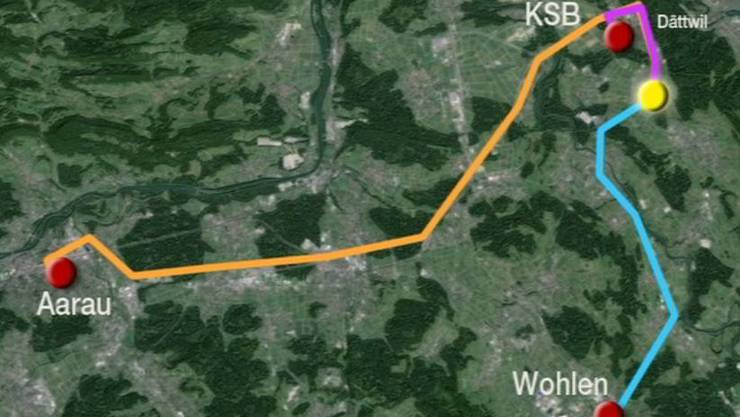 Doch die Ambulanz von Baden war in Aarau, obwohl es keine dringende Fälle zu diesem Zeitpunkt gab