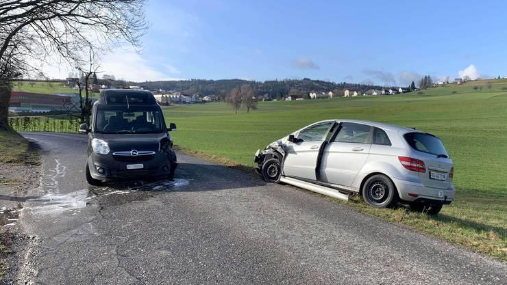 Der Unfall ereignete sich zwischen Retterswil (Seon) und Dürrenäsch.