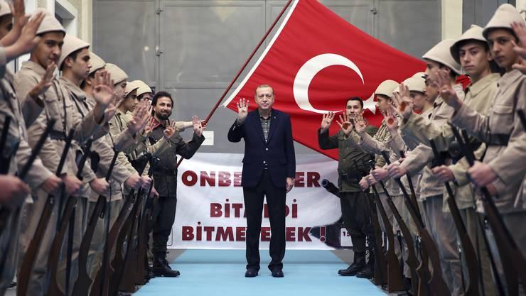 «Hayir», ein Nein bei der Abstimmung über die Verfassungsreform, kommt für den türkischen Präsidenten Recep Tayyip Erdogan nicht infrage.