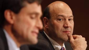 Müssen tief in die Kasse greifen: Goldman-Sachs-Chefs Craig Broderick und Gary Cohn.