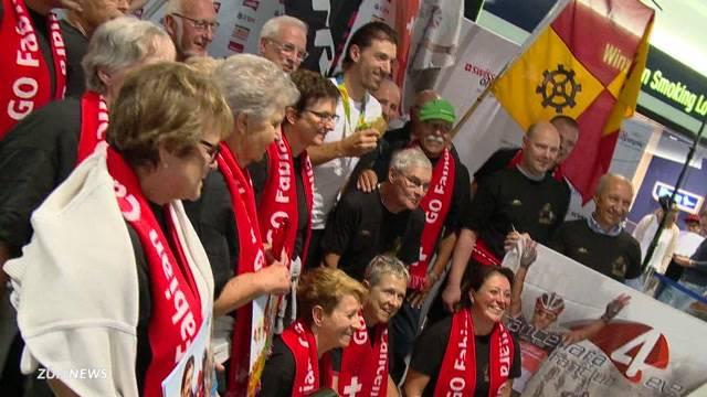 Olympia-Held Cancellara kehrt heim