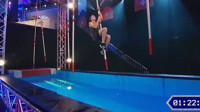 «Ninja Warrior Switzerland»-Gewinner: Simon Weiss' Final-Leistung