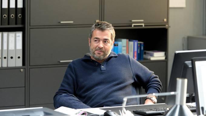 """Fertig weich und verständnisvoll: In seinem letzten """"Tatort"""", darf Stefan Gubser einen explosiven, fluchenden Kommissar Reto Flückiger spielen."""