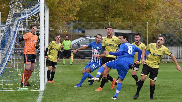 In der Vorrunde unterlag Dulliken dem FC Olten im Derby mit 2:3.