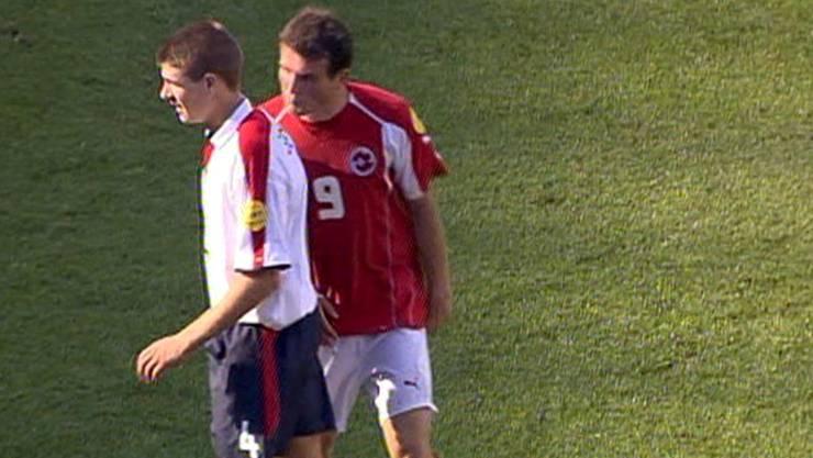 Alex Frei Spuckattacke auf Steven Gerrard löste die letzte grosse Nati-Krise aus.