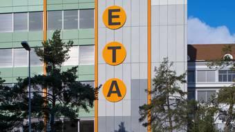 Der ETA-Hauptsitz in Grenchen SO.