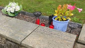 Grab auf dem Friedhof in Gansingen.