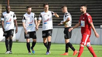 FC Aarau-FC Baden: Das Testspiel im Brügglifeld