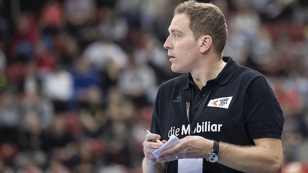 Führte die Schweiz an die EM-Endrunde: Nationaltrainer Michael Suter
