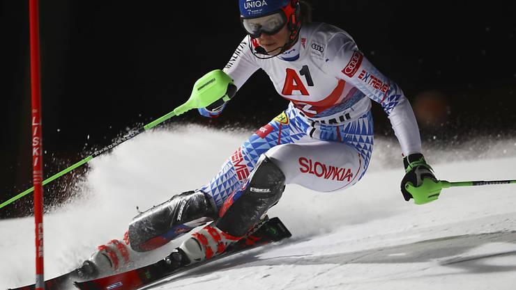 Schnellste im 1. Lauf: Petra Vlhova setzt Mikaela Shiffrin auch in Flachau unter Druck