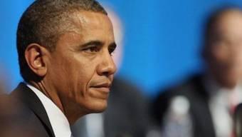 War Ziel eines Attentäters: US-Präsident Barack Obam.