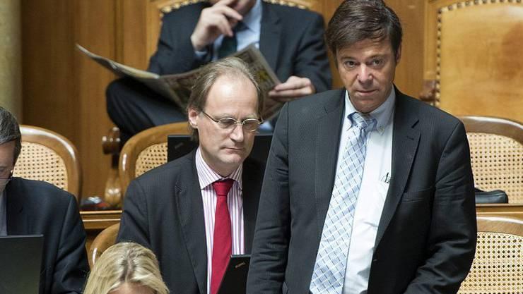Muss seinen Stuhl im Nationalratssaal räumen: Christoph Mörgeli (SVP).