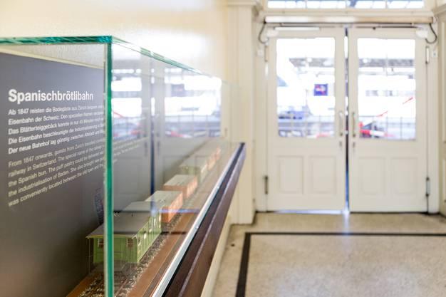 Ein grosszügiger Gönner hat das Modell der Badener Ortsbürgergemeinde geschenkt. Die Abteilung Kultur der Stadt Baden und das Historische Museum haben sich um die standesgemässe Präsentation gekümmert.