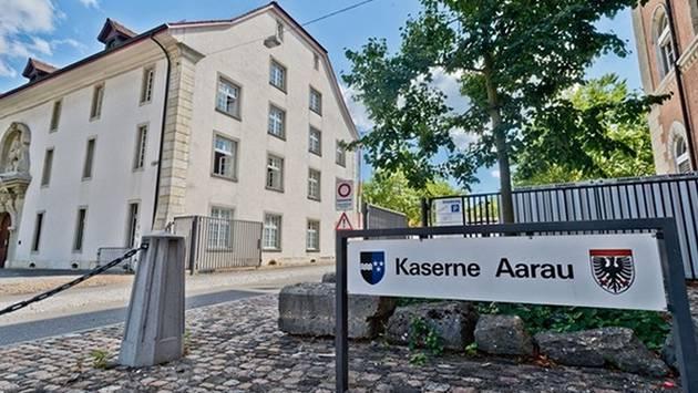 Die Kaserne Aarau wird auch in Zukunft militärisch genutzt. – Foto: az