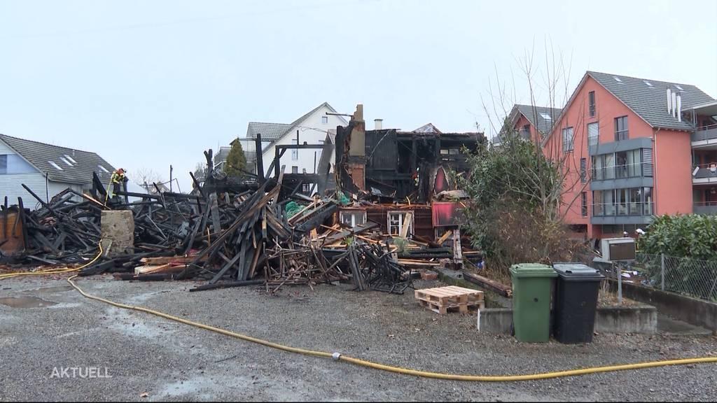 Brand in Merenschwand: Familie verliert am 1. Advent ihr Zuhause