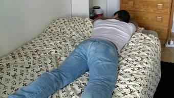 Carlos in einem Screenshot aus der Sendung ''Reporter''