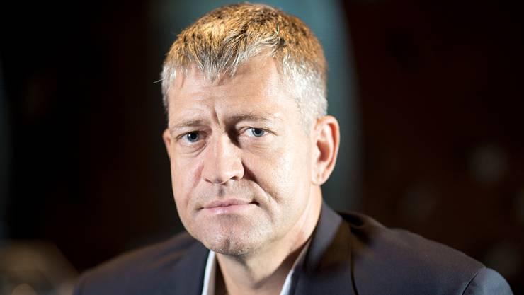Detlef Brose, Spielbank-Chef Grand Casino Baden, ging einem Gast an den Kragen.
