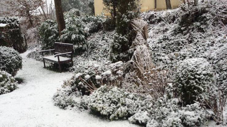 Endlich schneit es.