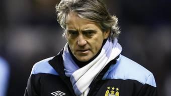 Niederlage für ManCity-Coach Roberto Mancini.