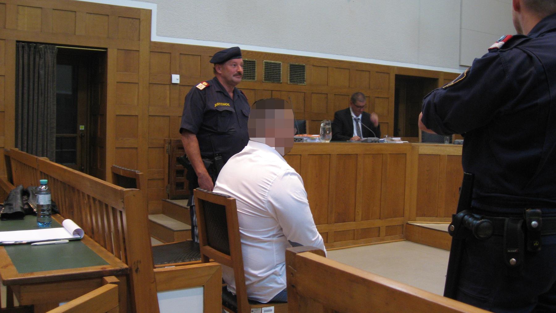 Beim Täter handelt es sich um einen 31-jährigen Kosovaren.