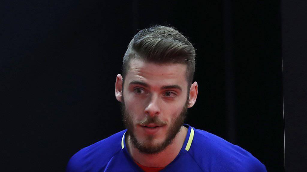 Drei Tage vor Spaniens erstem EM-Spiel gerät Goalie David De Gea bereits unter Beschuss