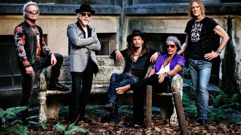 Aerosmith kommen ein letztes Mal in die Schweiz