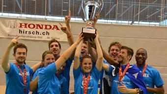 Das Team Argovia ist Schweizer Meister im Badminton