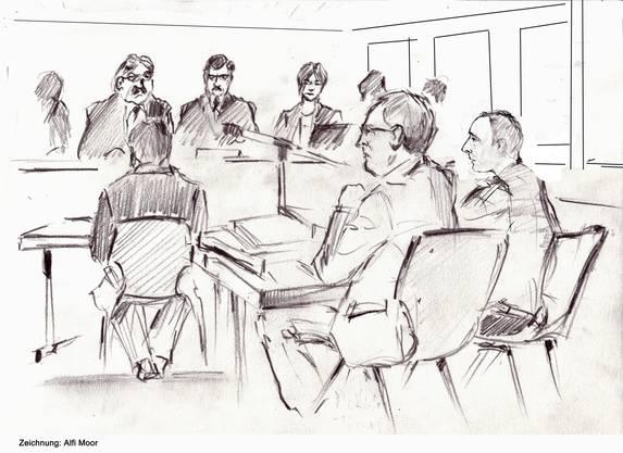 Im Gemeindehaus von Untersiggenthal findet der Prozess statt