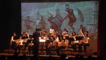 Die Stadtjugendmusik bietet grosses Kino