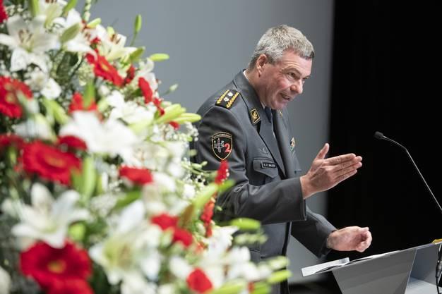 Divisionär Hans-Peter Walser.