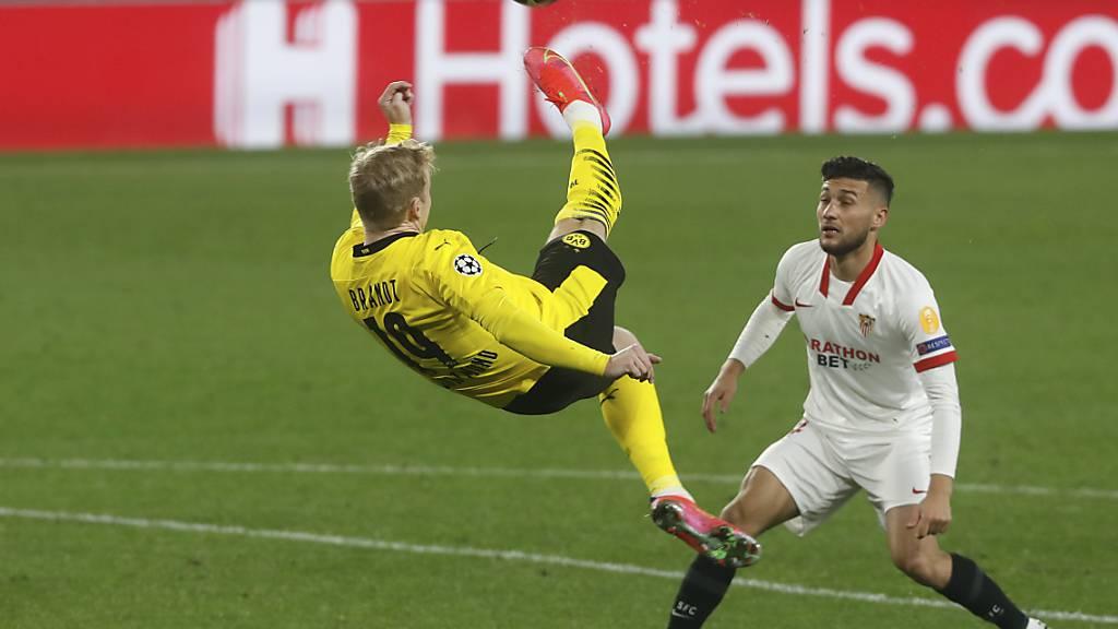 Julian Brandts Showeinlage geht nicht auf, ansonsten zeigt sich Borussia Dortmund allerdings gegen Sevilla stark verbessert als zuletzt