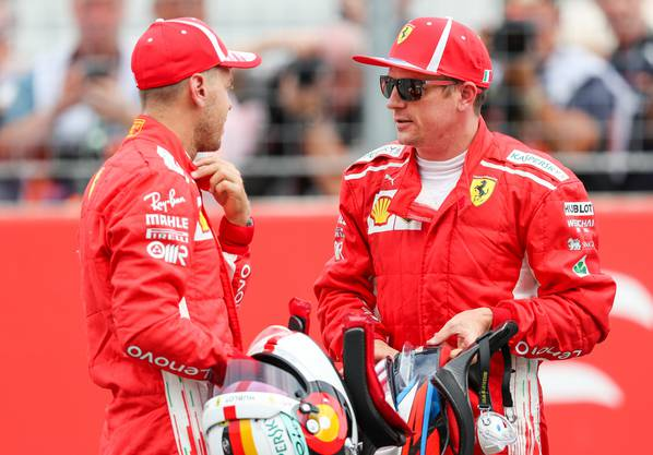 Bei Ferrari fuhr er zusammen mit Sebastian Vettel.
