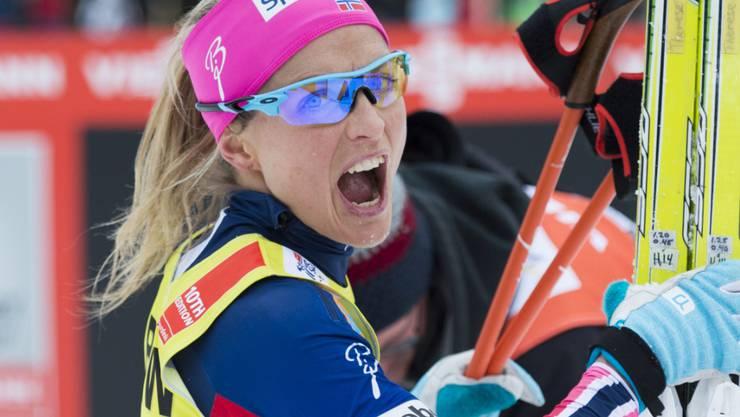 Therese Johaug blieb in einer Dopingkontrolle hängen
