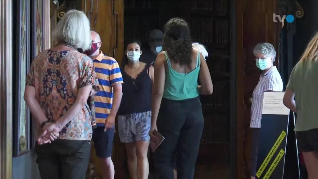 Schutzmassnahme: Stiftsbezirk SG führt Maskenpflicht ein