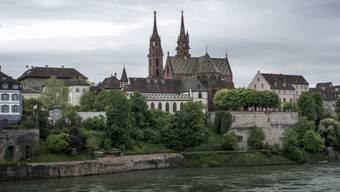 Basel von der idyllischen Seite: das Münster