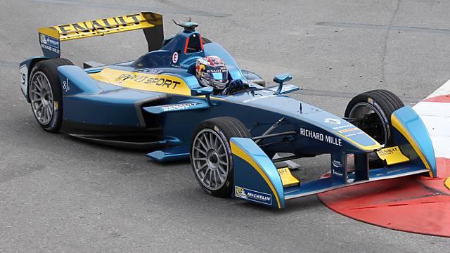 In Monte Carlo am schnellsten unterwegs: Sébastien Buemi