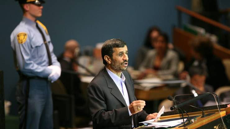 Ahmadinedschad: Provokationen vor der UNO.