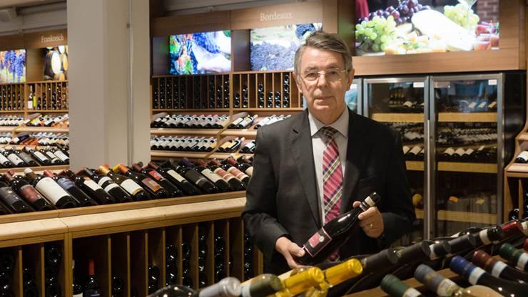 Peter Schürmann ist längst pensioniert, ist aber dennoch jeden Tag im Geschäft anzutreffen. Dominic Kobelt