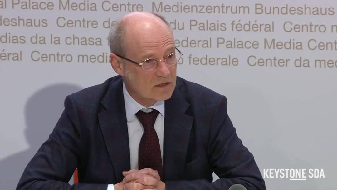 """Stefan Blättler: """"Verzichten Sie auf unnötige Reisen"""""""