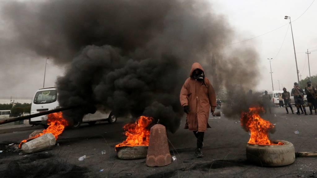 Proteste gegen irakische Regierung weiten sich wieder aus