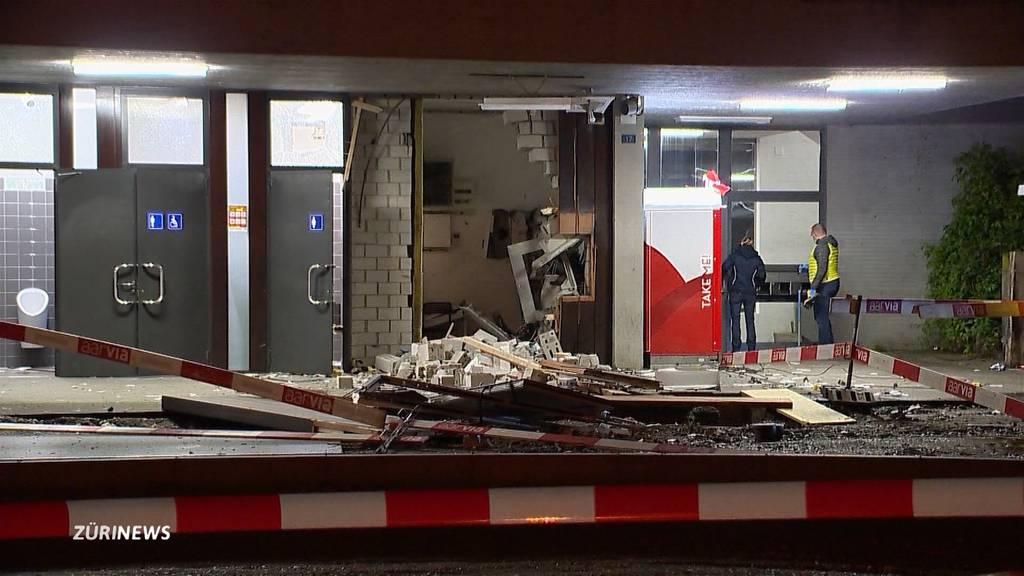Explosion in Killwangen-Spreitenbach: 17. Bankomant dieses Jahr gesprengt